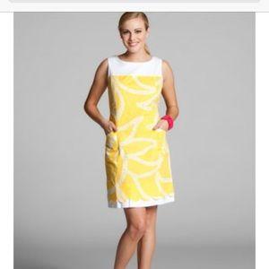 Lilly Pulitzer Sunny Sunshine Yellow Print Dress